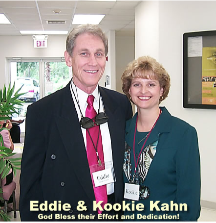 Eddie and Kookie Kahn